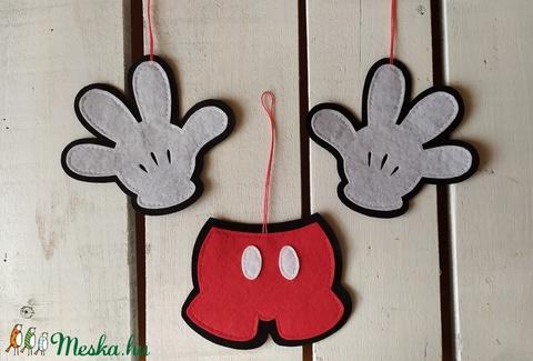 Mickey karácsonyfadísz (sudarnekriszti) - Meska.hu