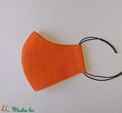 Narancssárga szájmaszk - 1-es méret (sudarnekriszti) - Meska.hu