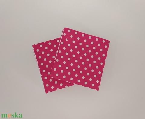 Újraszalvéta pink- 2 db (sudarnekriszti) - Meska.hu