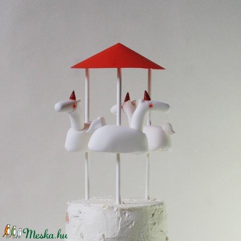MERRY-GO-ROUND - cukorbábok a tortádra (sutoknekedegymeset) - Meska.hu