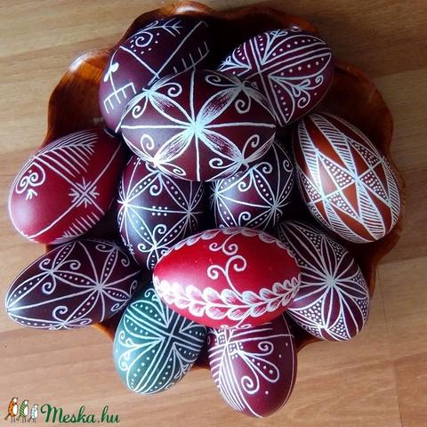 Hímes liba tojás (SzalaiBeArt) - Meska.hu