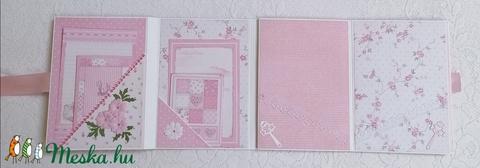 Hajtogatós scrapbook album (Szincsi) - Meska.hu