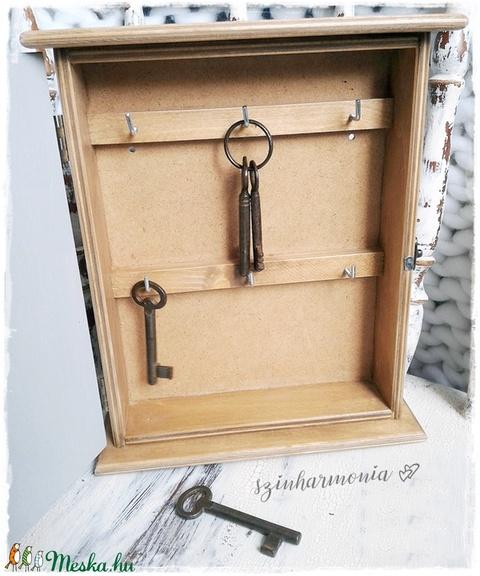 Kulcstartó szekrény - Madárcsicsergés (skandináv stílusú fali kulcsosszekrény) - Meska.hu