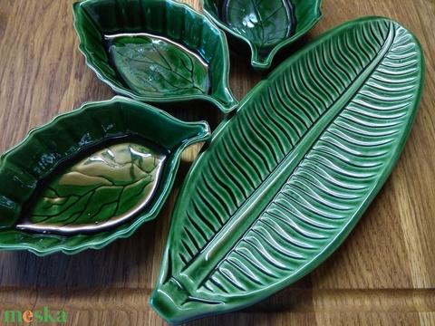 Zöld színű kínáló tálka szett (tammyspottery) - Meska.hu