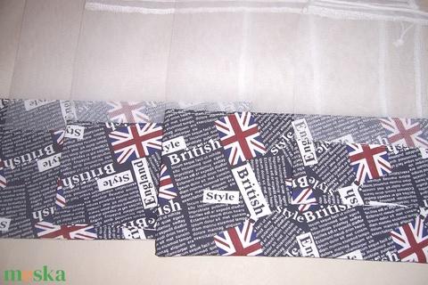 Textilzsák 5 db-os szett zászló mintás  (textilcseppek) - Meska.hu