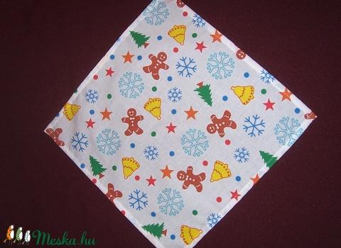 Textil szalvéta 6 db mézis  (textilcseppek) - Meska.hu
