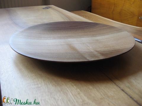 Diófa tányér (tgwoodworking) - Meska.hu