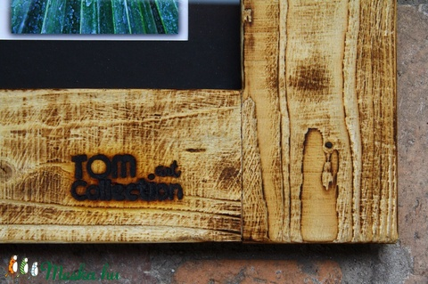 Nagyméretű Rusztikus képkeret, Képkeret, (6 db 13x18 cm fényképhez) (TomArtCollection) - Meska.hu