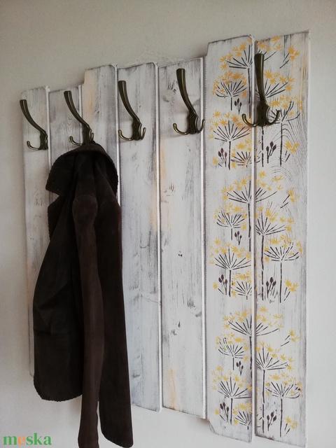 Fogas -  sárga-barna virágok (timika111) - Meska.hu