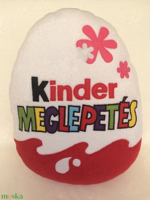 Kinder tojás alakú párna lányoknak - Meska.hu