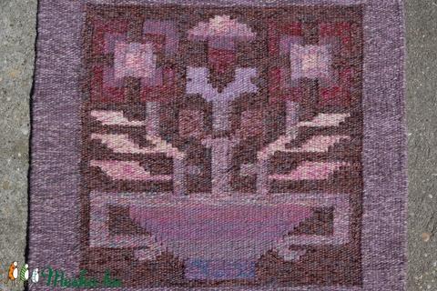 Gyapjúszőnyeg SZ74 Virágos tál (Timim) - Meska.hu
