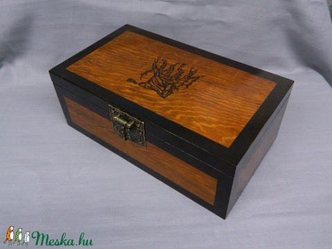 Fa ajándék doboz - Meska.hu