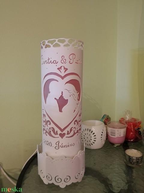 Esküvői lámpa (Topi555) - Meska.hu