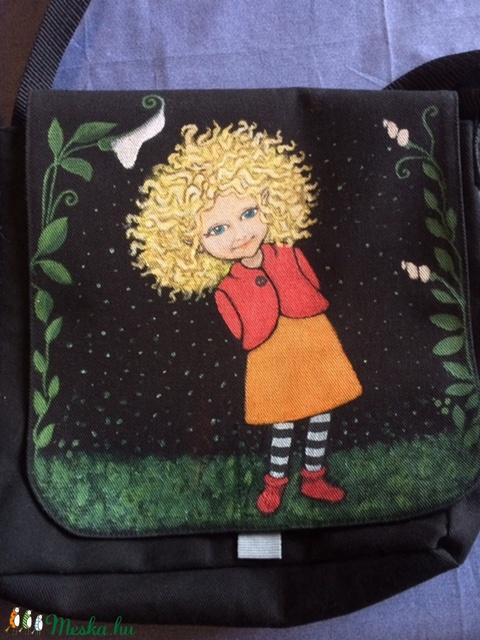 Tündéres táska, egyedi kézzel festett (Tundertaska) - Meska.hu
