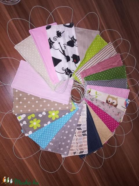 Textil arcmaszk 5+1 ajándék  (Tundi77) - Meska.hu