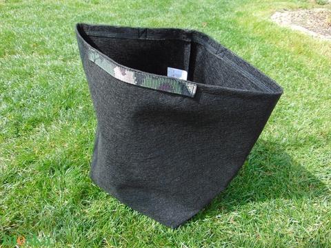 Ültető zsák, füllel 30 cm átmérőjű x 35 cm magas/ paradicsom, tök, padlizsán, uborka, saláta, stb. termesztéséhez - Meska.hu