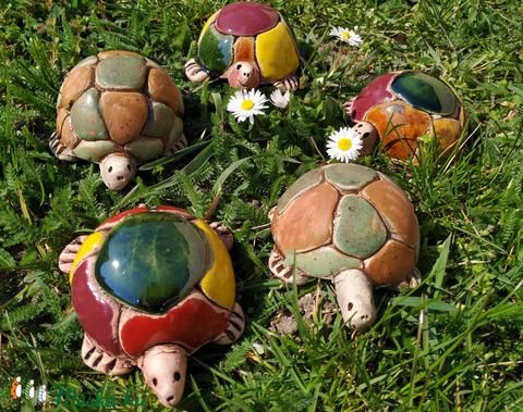 Kerámia teknős (valean) - Meska.hu
