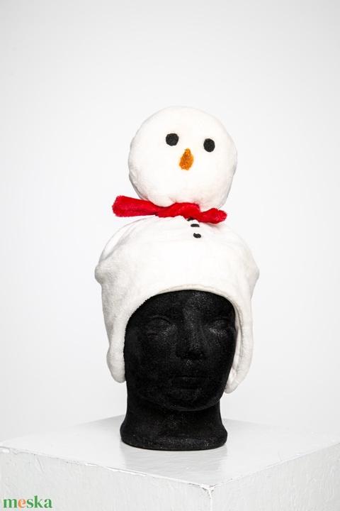 Hóember téli sapka - Meska.hu