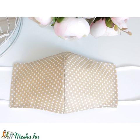 KIÁRUSÍTÁS Együtt olcsóbb akció! 4db Kényelmes felnőtt maszk dupla 2 réteg pamut mosható vasalható puha gumival szín-pö - Meska.hu