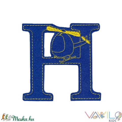 Figurás ABC - 26 db mágneses betű (Vavilokids) - Meska.hu