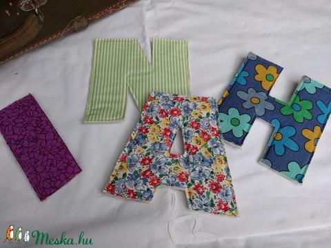 Textil betű (vighilda) - Meska.hu