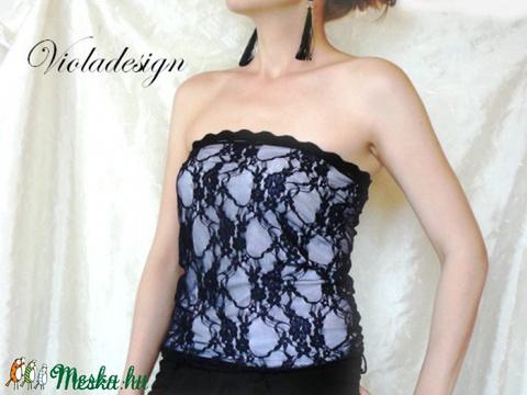 Bálkirálynő - női felső (violadesign) - Meska.hu