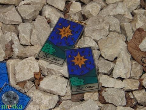 Tarot kártya fülbevaló csomag - Meska.hu