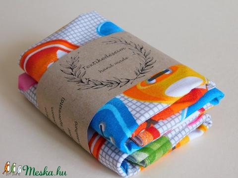 Textil szalvéta 2db/ szett (vizhanyonekriszta) - Meska.hu