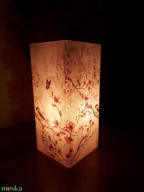 Asztali lámpa éjjeli lámpa hangulatvilágítás (vkbrigi86) - Meska.hu