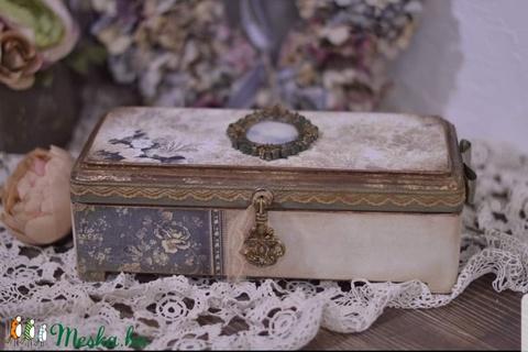 Romantikus,  ékszeres doboz  (vmorsy) - Meska.hu