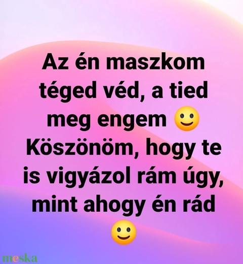 Hello nyuszi,  babát várok, babázok.... szájmaszk (VODIKA) - Meska.hu