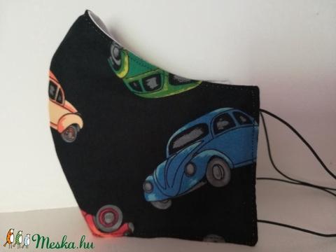 VW bogár......szájmaszk, arcmaszk. (VODIKA) - Meska.hu