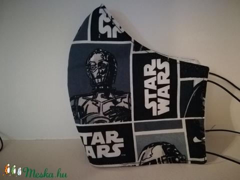 Starwars, C-3PO szájmaszk, arcmaszk. (VODIKA) - Meska.hu