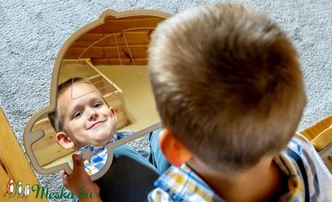 Hegy gyerekbarát tükör (woodartdecor) - Meska.hu