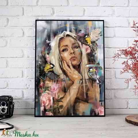 Virradat (digitális festmény) (zisa) - Meska.hu