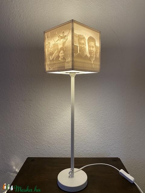 Litofán lámpa egyedi képekkel - négyszögletes (zomeow) - Meska.hu