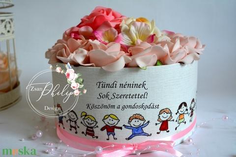 Szöveges Ballagási virágbox (ZsanPhilip) - Meska.hu