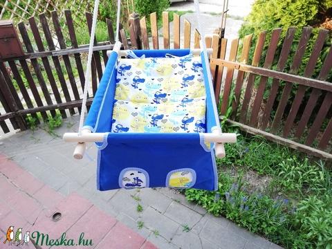 100% pamut aral kék krokodilos  (zsebifiu) - Meska.hu