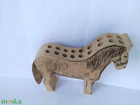 ceruzatartó ló (Zsoboka) - Meska.hu