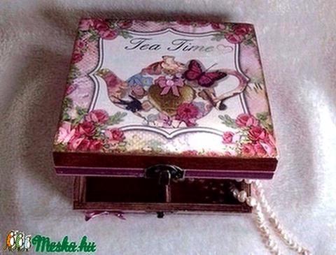Tea Time tea- és recepttartó (Zsuzskaboltja) - Meska.hu