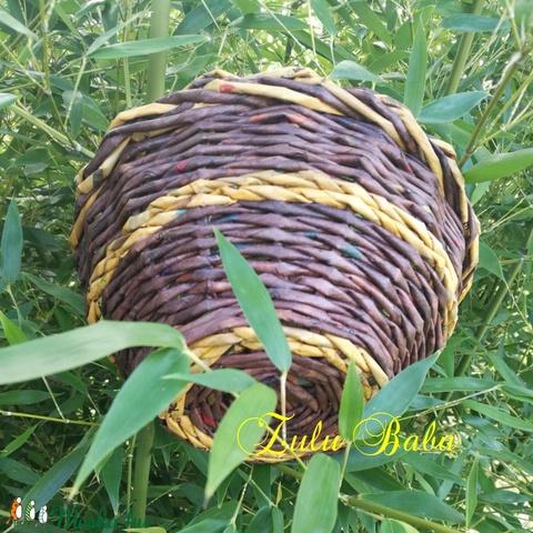 Kosár őszi színekben (ZuluBaba) - Meska.hu