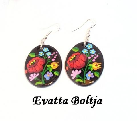 Kalocsai  virág motívum (Evatta) - Meska.hu