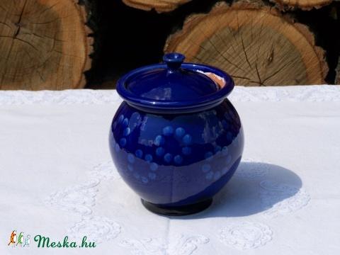 Kék macskanyomos csupor (Kovacsi) - Meska.hu