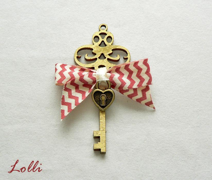Key to my heart kicsi vőlegény kitűző - Rendelhető! (Lolli) - Meska.hu