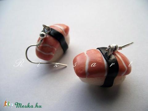 Sushi fülbevaló Karácsonyi Akció (RizsArt) - Meska.hu