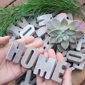 Anya felirat - Betűk betonból  - Meska.hu