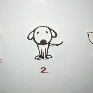 Kutyás hűtőmágnes, Otthon & Lakás, Konyhafelszerelés, Hűtőmágnes, Ékszerkészítés, A figurák 3d nyomtatással készülnek.\nVálassz a háromféle típus közül.\nAz ár egy darabra vonatkozik.\n..., Meska