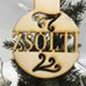 Egyedi karácsonyfadísz - ÉVSZÁM NÉLKÜL  (3Dfamuves) - Meska.hu