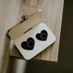 Gyűrűtartó doboz (3Dfamuves) - Meska.hu