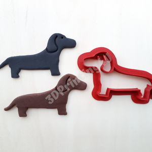 Kicsi Tacsi sütikiszúró mézeskalács linzer süteménykiszúró keksz 3D nyomtatás eb kutya tacskó kiszúró forma (3DPrinting4U) - Meska.hu